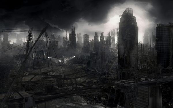 Scary Landscape Of Fantasy, Fantasy Scenes 2