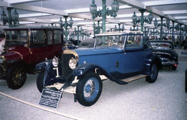 1984.06.18-049.28 Mercedes 600 1938 et Mercedes 14-30 1909