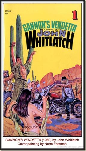 Norm Eastman - GANNON'S VENDETTA, John Whitlatch (1969) MPM