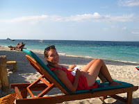 Relaxing on Gili Air
