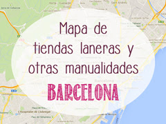 Mapa de tiendas en BCN by Lanukas