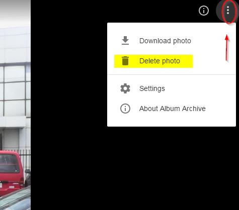 Photo delete - Google Product Forums