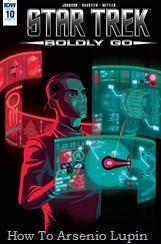 Actualización 22/04/2018: Los almirantes Luisplissken, Axelorius y Mastergel nos traen los números 9 y 10 de Star Trek: Boldly Go para La Leyenda de Star Wars y La Mansion del CRG. Numero 9: 'Bienvenido a Nuevo Vulcano! Uhura y Spock se adaptan a la vida en la creciente colonia... ¡y descubren un antiguo secreto que podría cambiar el destino de los vulcanos para siempre! Numero 10: Scotty regresa a la base de Yorktown para verificar la construcción de la nueva Enterprise... ¡solo para descubrir que la construcción del buque insignia trae peligros inesperados!