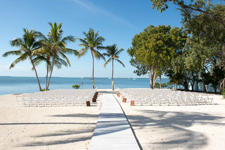 wedding ceremony key largo lighthouse beach weddings florida keys
