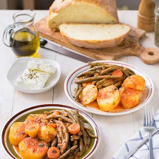 Mediterranean Green Bean Stew Recipe