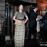 WWW.ENTSIMAGES.COM -  Hayley Atwell arriving at    The Charles Finch & Chanel Pre-BAFTA Dinner at Annabel's in Berkeley Square London February 9th 2013                                                      Photo Mobis Photos/OIC 0203 174 1069