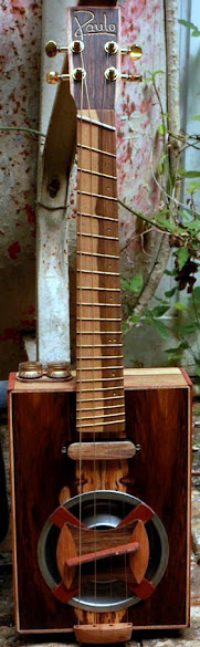 Jose Roman Raulo Guitars cigar box Ukulele