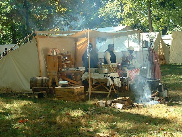 Rutherford B . Hayes Civil War Encampment - 2002_1005_130009AA.JPG