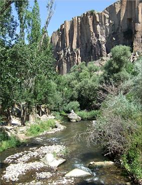 Río Melendiz - Valle de Ihlara (Ihlara Vadisi) - Capadocia