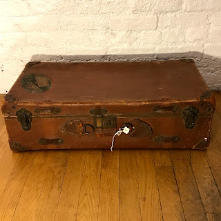 Cunard Line Labeled Travel Case