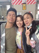 Photo: プルミエのリハ帰り。 なぜ大塚さん、目瞑ってる??(笑)5/27