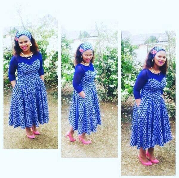 Shweshwe Designs For 2017: Trendy Shweshwe Designs 2018 You Can Try