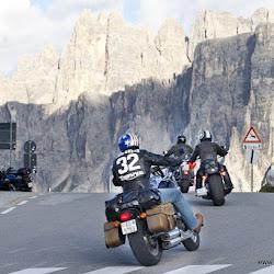 Motorradtour Dolomiten Cortina Passo Giau