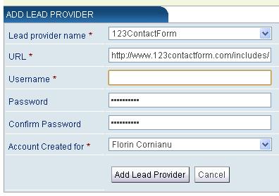 123contactform top producer integration