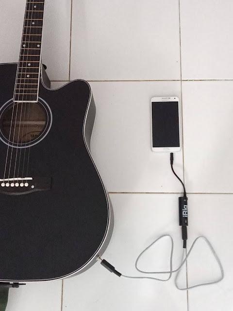 Mantap !! Review Cara Termudah & Termurah Merekam Suara Gitar ke HP Android - via Irig