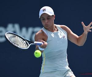 Ashleigh Barty even onder druk, maar nummer één van de wereld zet wel WTA-toernooi van Stuttgart op haar naam