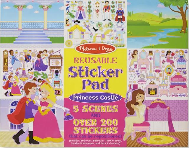Sách sticker Cung điện hoàng gia ME4306 với những khung cảnh tuyệt đẹp