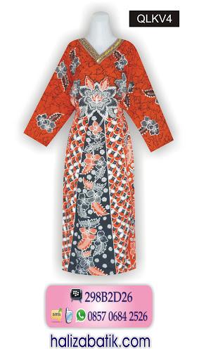 Desain Baju Batik Modern, Toko Baju Online, Busana Batik, QLKV4