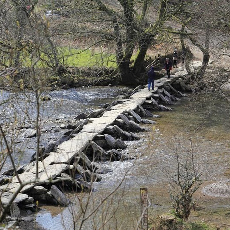 Tarr Steps: An Ancient 'Clapper Bridge' in Somerset