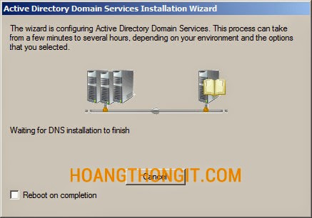 Cài đặt Additional Domain Controller trên Windows server 2008