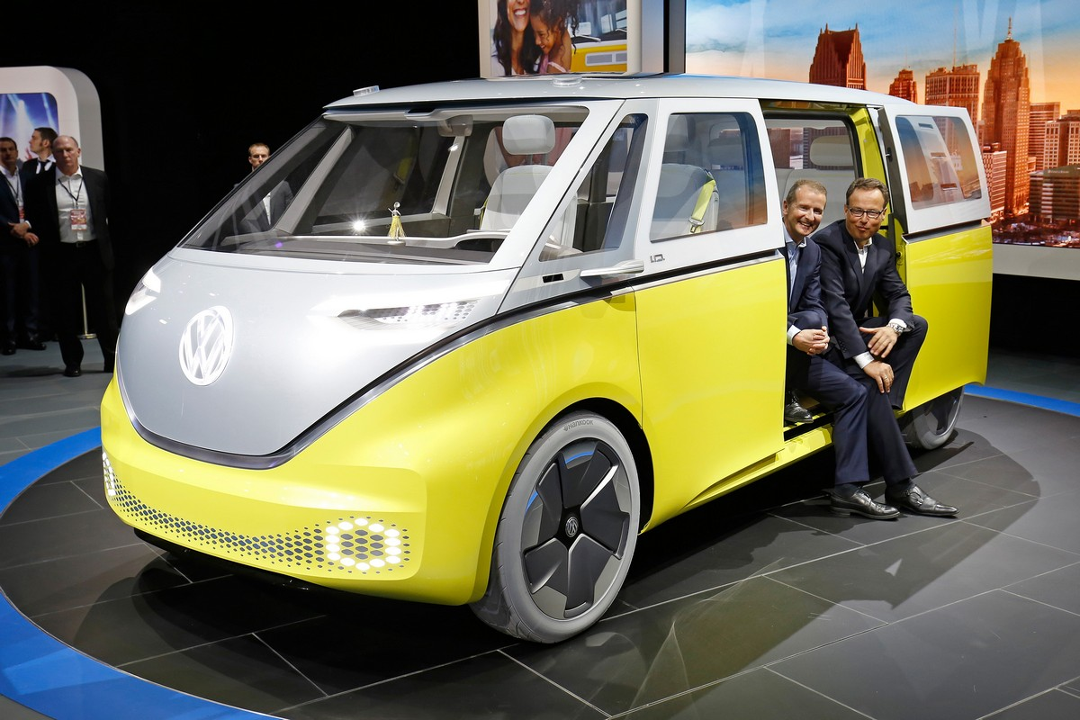 volkswagen id buzz concept. Black Bedroom Furniture Sets. Home Design Ideas