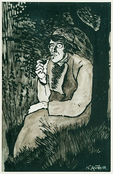 Nikolai Astrup - Self Portrait (large)