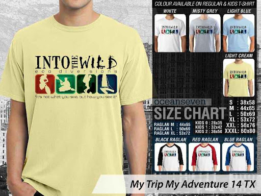 Kaos Wisata Indonesia My Trip My Adventure 14 distro ocean seven