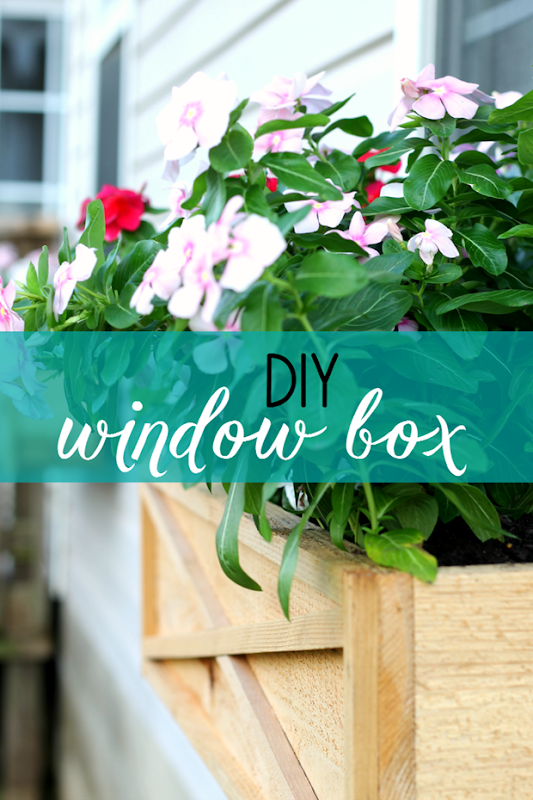 ginger snap crafts diy window boxes tutorial. Black Bedroom Furniture Sets. Home Design Ideas