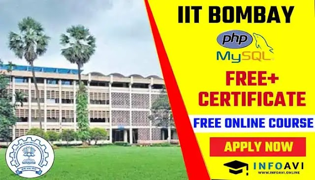IIT Bombay Offers PHP and MySQL Free Online Course Enroll Now