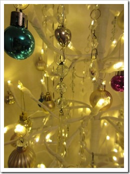vintage chandalier drops christmas tree decorations