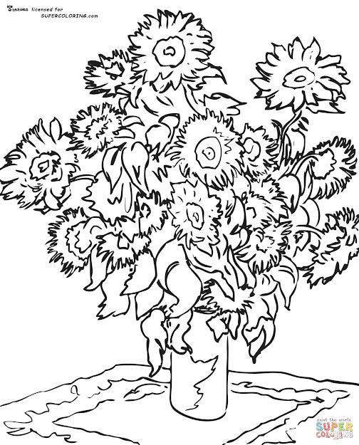 Sunflower By Claude Monet