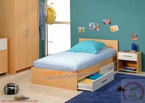 Giường ngủ phòng teen SMG12