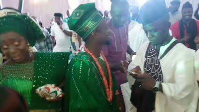 Super Eagles Skipper, Ogenyi Onazi Weds In Benin to his heartrob Sandra Ogunsuyi