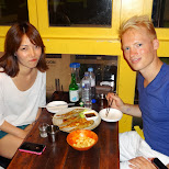 my new Korean friend Joeun (not our greatest picture together) in Seoul, Seoul Special City, South Korea