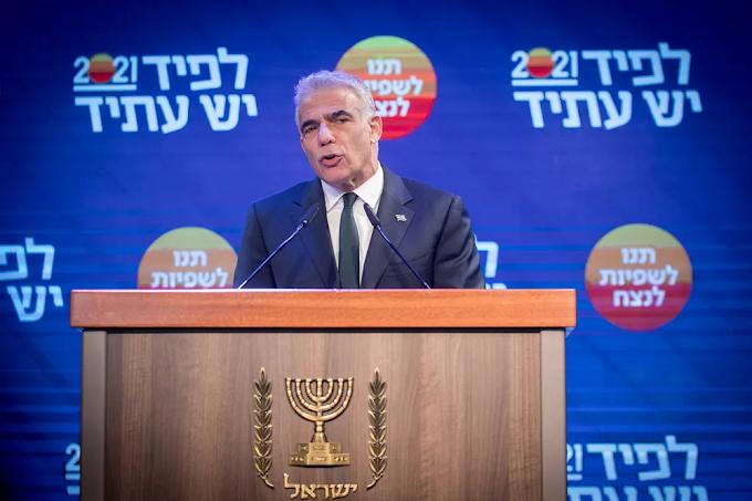 Yair Lapid: Ofereci a Bennett o primeiro mandato como PM no governo de unidade israelense