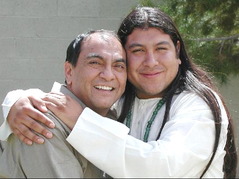 Don Miguel Ruiz Author With Son, Don Miguel Ruiz