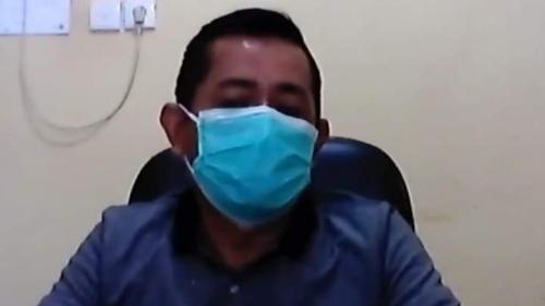 Foto Kepala DLH Padang Mairizon. Warga Diminta Disiplin Kelola Limbah B3 Medis.