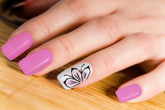 Cute Flower Nail Art Ideas Collection For Girls Styles Art