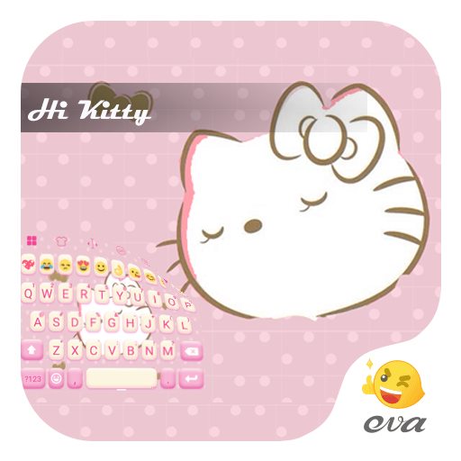 Shy Kitty Keyboard -Emoji &Gif 遊戲 App LOGO-硬是要APP