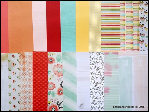 Peachy Keen Day Papers