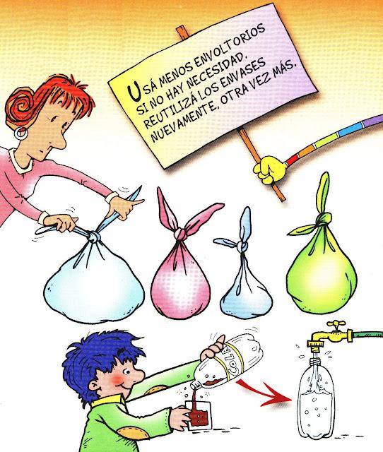 Cuidamos el medio ambiente for Dibujos de las 3 r