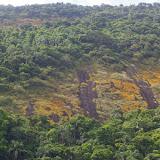 Formation de pains de sucre en terrain granitique. Pointa Grossa (Ilha Grande, RJ), 17 février 2011. Photo : J.-M. Gayman