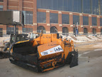 Lucas Oil Stadium - City Wide Paving Prepares to Pave Roadway