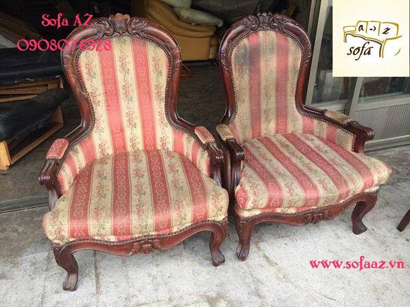 Bọc ghế cổ điển, ghế cao cấp nhập khẩu từ Châu Âu tại HCM