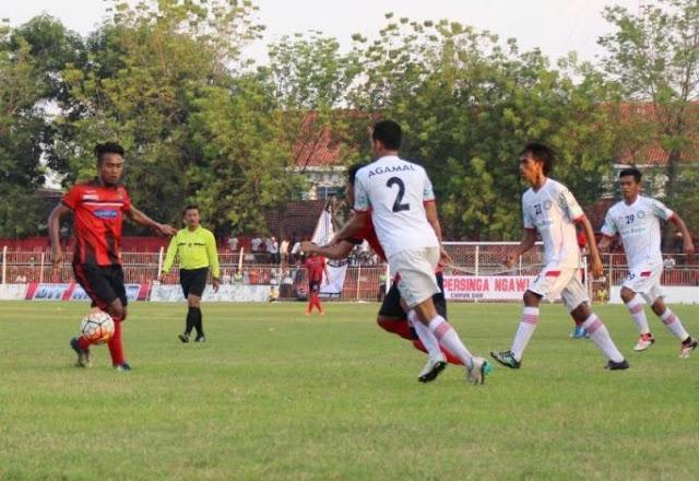 Menang Tipis Atas Martapura FC, Persinga Ngawi masuk runner Up