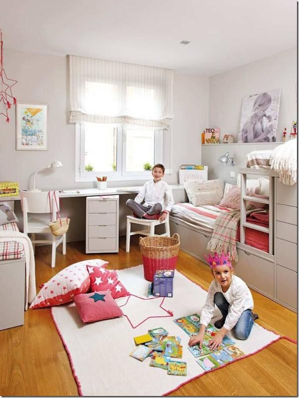 Camera per due bambini case e interni for Cameretta per due