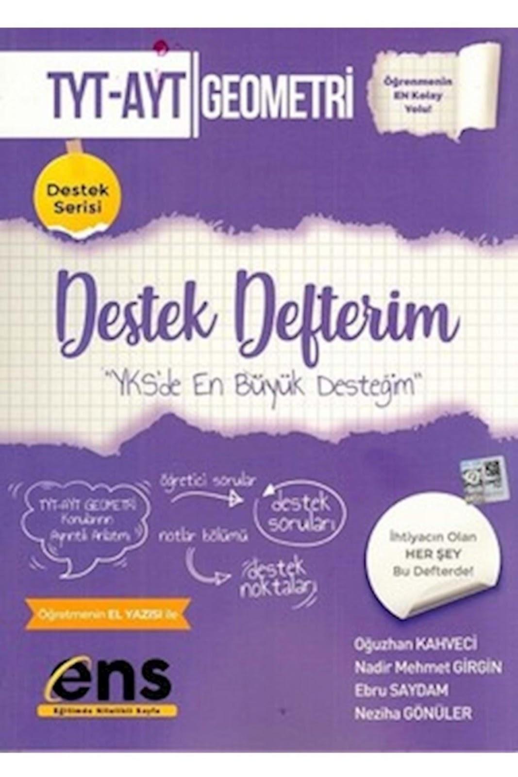 ENS Yayınları - TYT - AYT Geometri - Destek Defterim