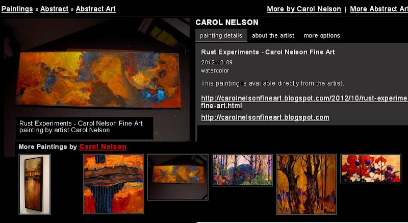 Caro lNelson - Rust Experiments