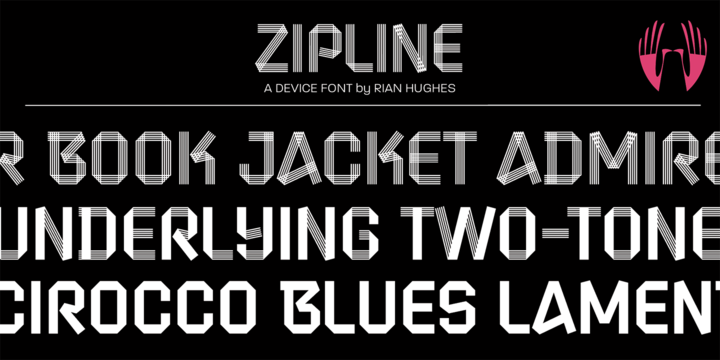 Download Zipline Font Family From Device