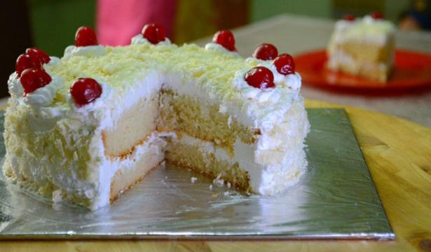 White Forest Cake Recipe   Cake Recipes   THE SCIENTIFIC GUY